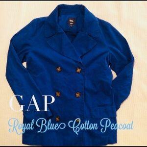 Blue gap jacket
